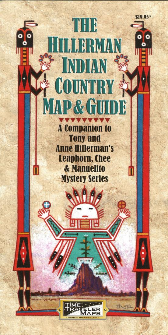 Cover of The Hillerman Indian Country Map and Guide