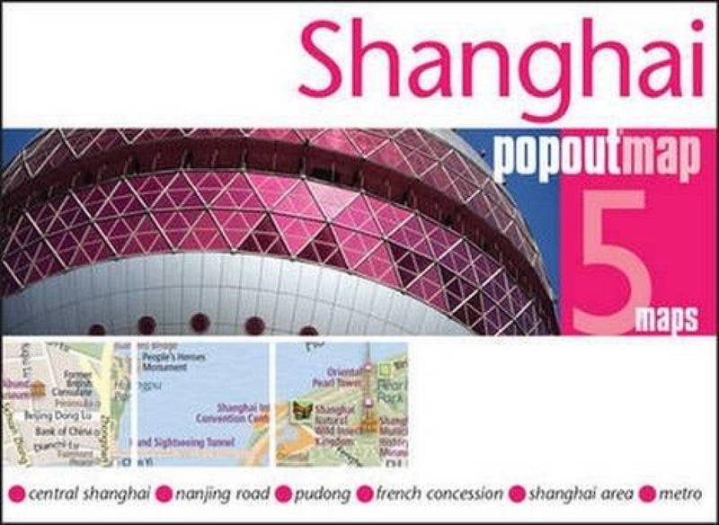 Cover of Shanghai, China, PopOut Map
