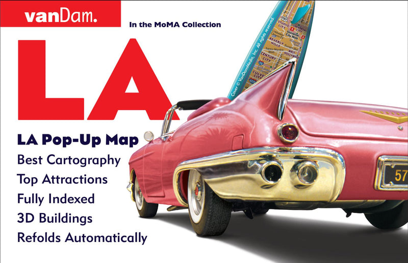 Cover of Los Angeles, California Pop-Up