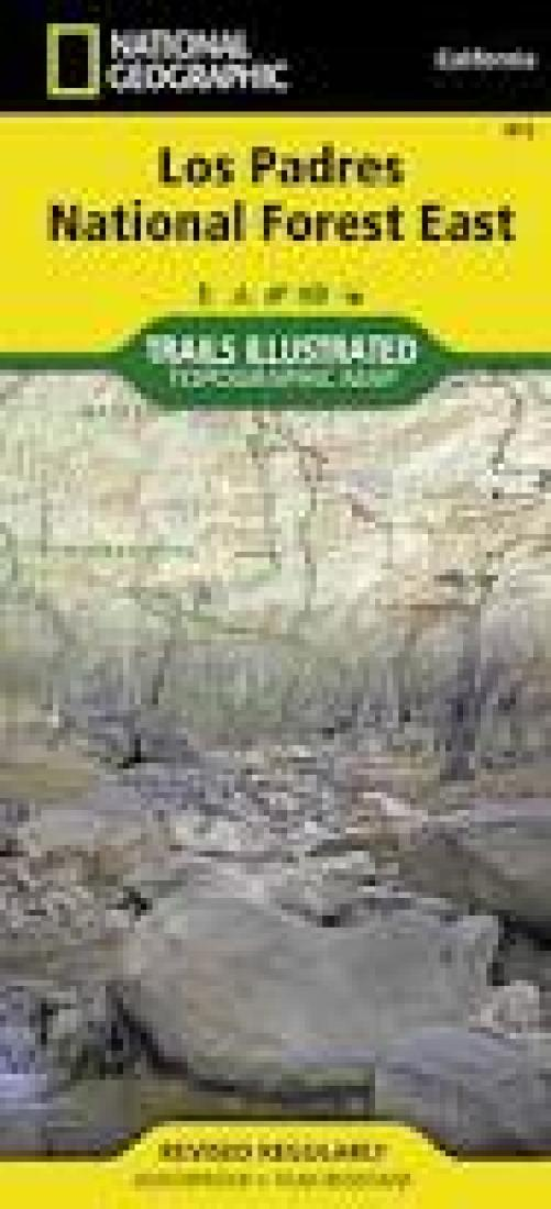 Los Padres National Forest east : California, USA :outdoor recreation map by National Geographic