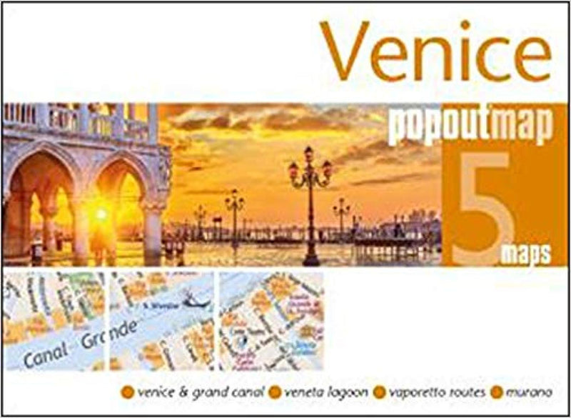 Cover of Venice, Italy, PopOut Map