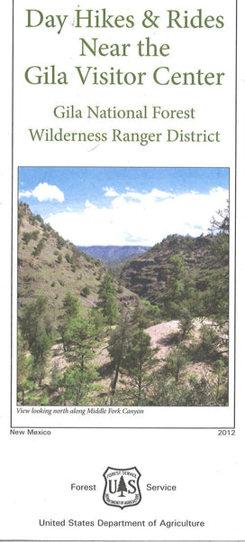 Cover of Gila National Forest Map: Day Hikes & Rides Near Gila Visitor Center by U.S. Forest Service
