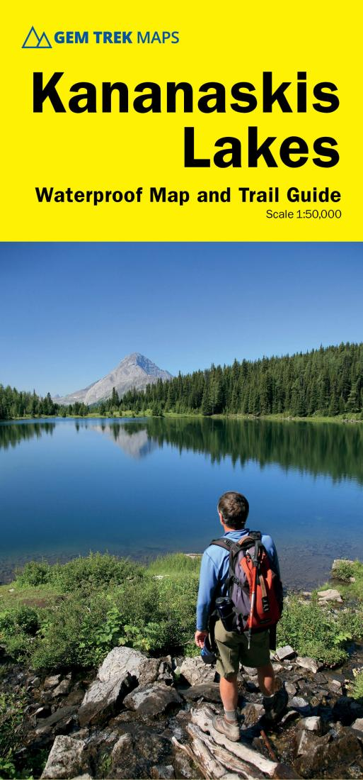 Cover of Kananaskis Lakes Map and Trail Guide