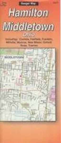 Cover of Butler County and Hamilton, Ohio by The Seeger Map Company Inc.