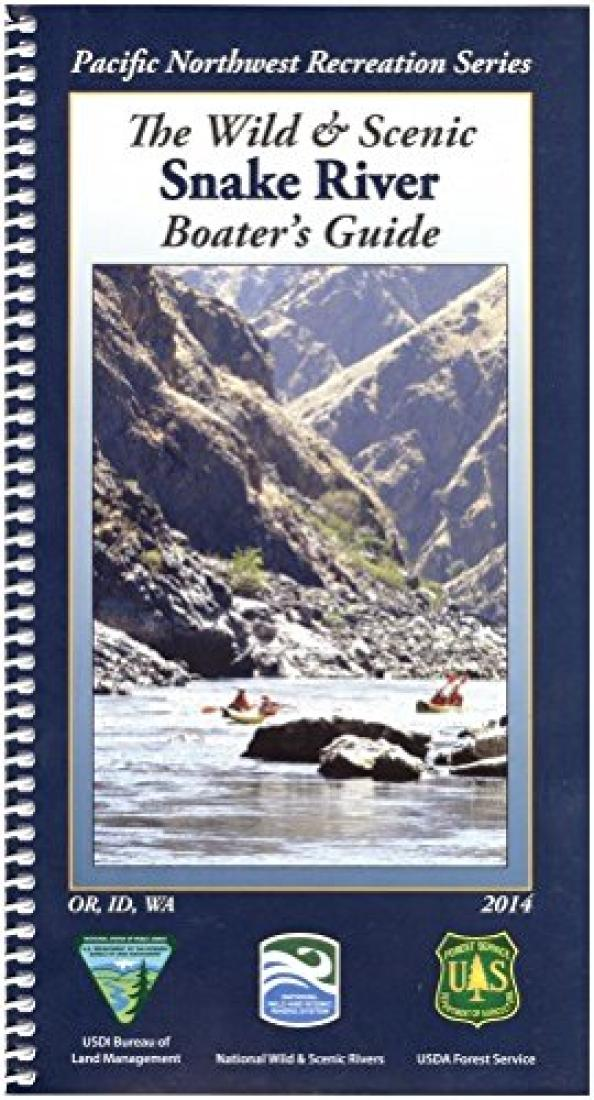 Cover of Snake River Boaters Map by U.S. Forest Service