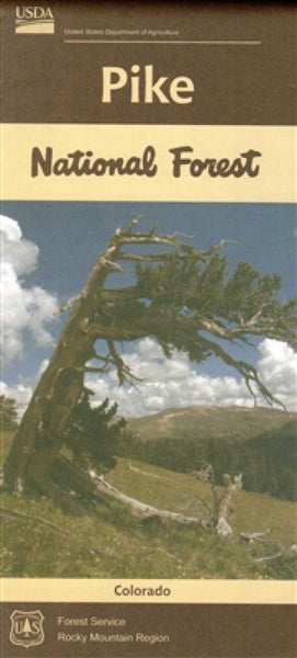 Cover of Pike National Forest Map by U.S. Forest Service