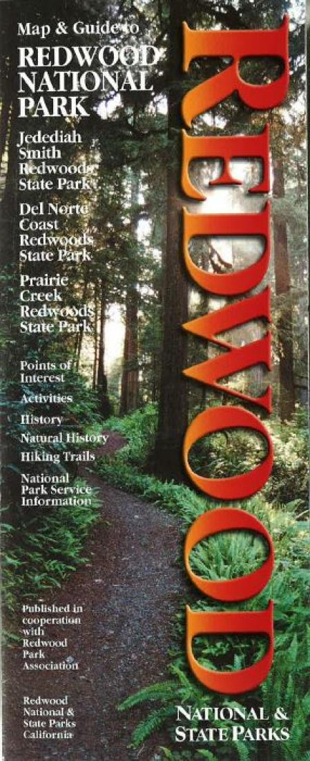 Cover of Redwood National/State Parks, California Map and Guide