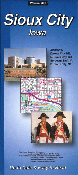 Cover of Sioux City, Iowa by The Seeger Map Company Inc.
