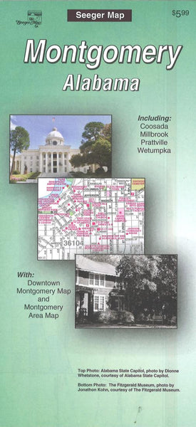 Cover of Montgomery, Alabama by The Seeger Map Company Inc.