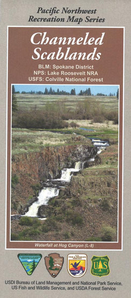Cover of Channeled Scablands Map by U.S. Forest Service