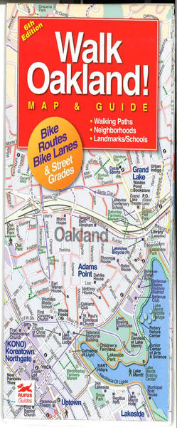 Cover of Oakland, California Walking Map and Guide
