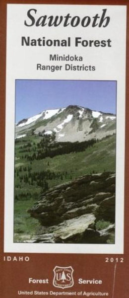 Cover of Sawtooth National Forest Map by U.S. Forest Service