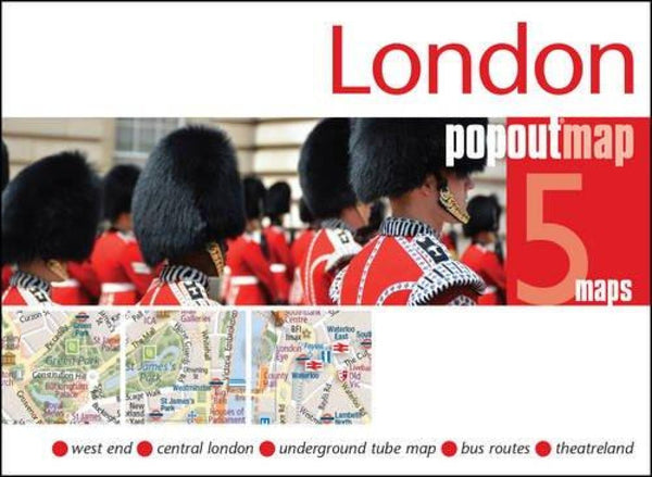 Cover of London, England, PopOut Map