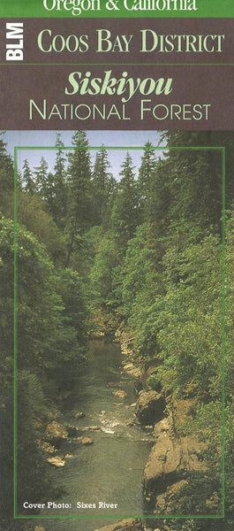 Cover of Siskiyou National ForestMap by U.S. Forest Service