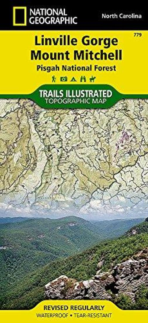 Linville Gorge : Mount Mitchell : Pisgah National Forest by National Geographic