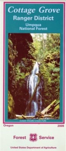 Cover of Umpqua National Forest Map by U.S. Forest Service