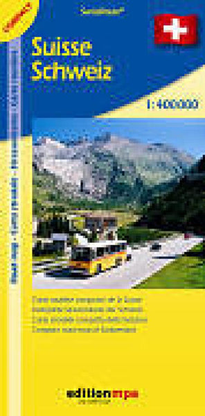Cover of Switzerland Road Map : Compact Edition by Edition MPA by Orell Fussli