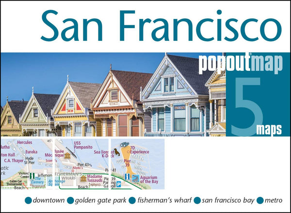 Cover of San Francisco, California, PopOut Map