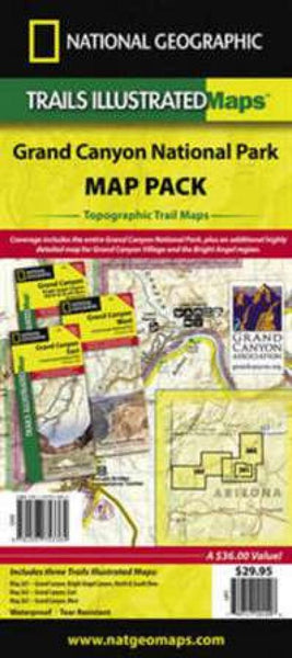 Grand Canyon National Park : map pack by National Geographic