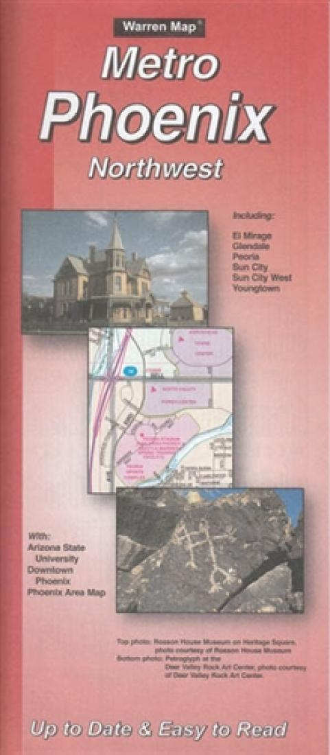 Cover of Phoenix, Arizona Metro, Northwest by The Seeger Map Company Inc.