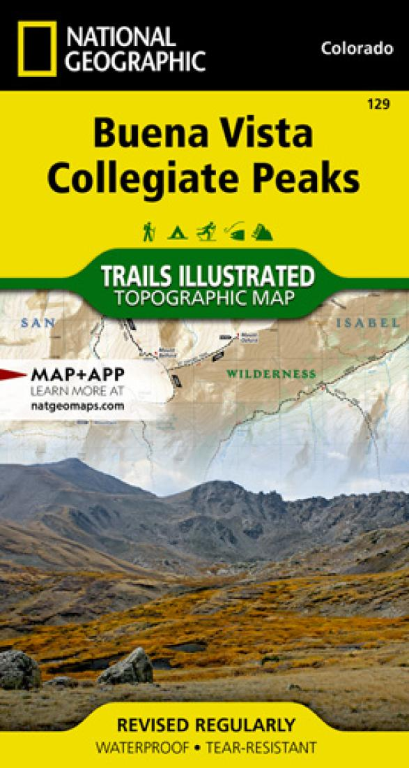 Buena Vista : Collegiate Peaks by National Geographic