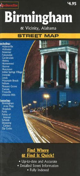 Cover of Birmingham and Vicinity, Alabama by The Seeger Map Company Inc.