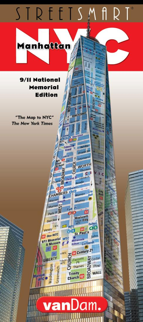 Cover of New York City, 9/11 Memorial StreetSmart