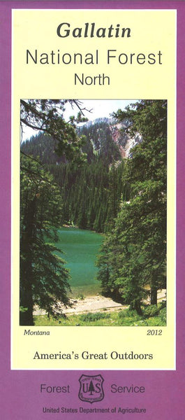 Cover of North Gallatin National Forest Map by U.S. Forest Service