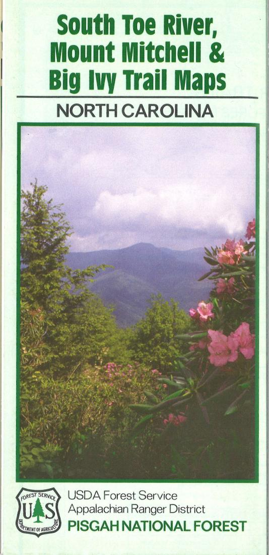 Cover of Pisgah National River Area Recreation Map by U.S. Forest Service