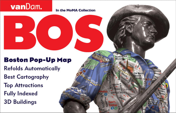 Cover of Boston, Massachusetts Pop-Up