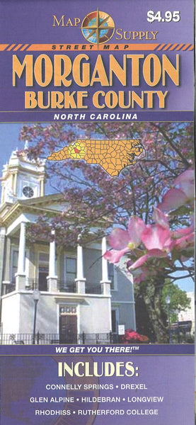 Cover of Morganton : Burke county, North Carolina by Map Supply, Inc.