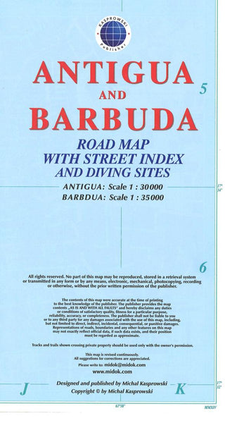 Cover of Antigua and Barbuda Road Map