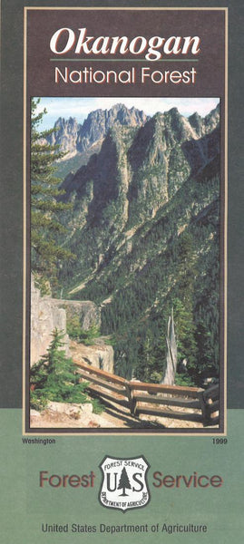 Cover of Okanogan National Forest Map by U.S. Forest Service