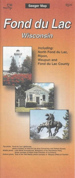 Cover of Fond du Lac, Wisconsin by The Seeger Map Company Inc.