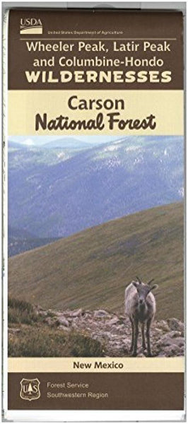 Cover of Carson National Forest Map by U.S. Forest Service