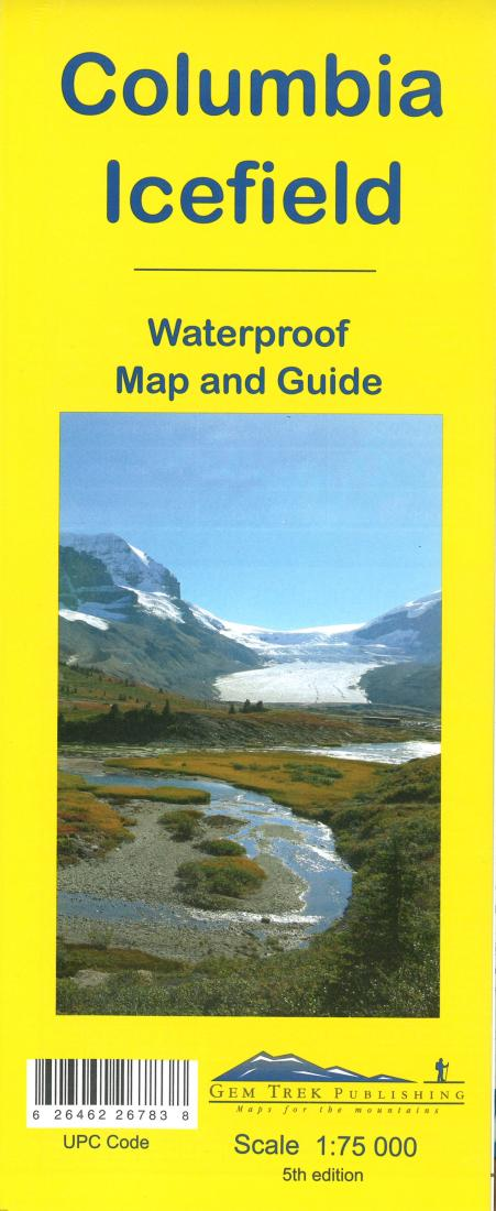 Cover of Columbia Icefield Map and Guide