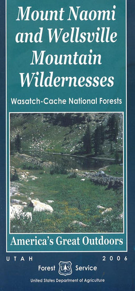 Cover of Wasatch-Cache National Forest Map by U.S. Forest Service