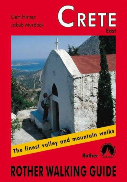 Cover of Crete, East, Walking Guide by Rother Walking Guide