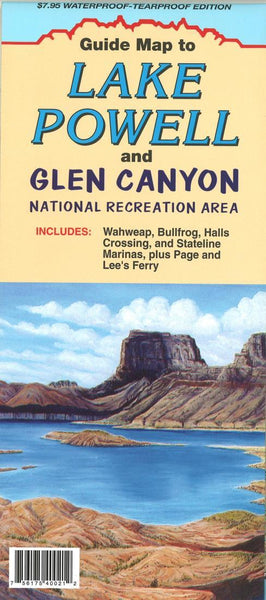 Cover of Lake Powell and Glen Canyon, Utah Recreation Map by North Star Mapping