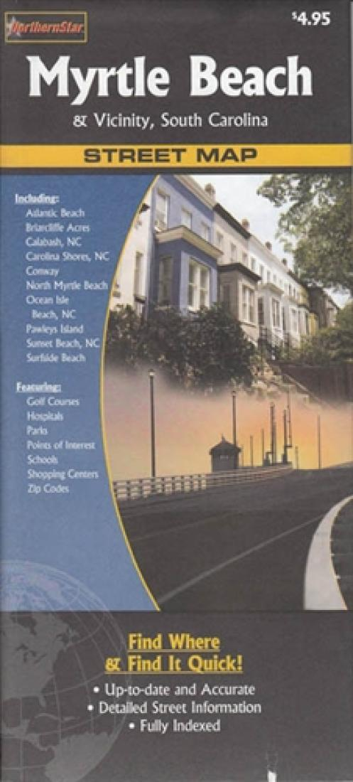Cover of Myrtle Beach, South Carlolina and vicinity by The Seeger Map Company Inc.