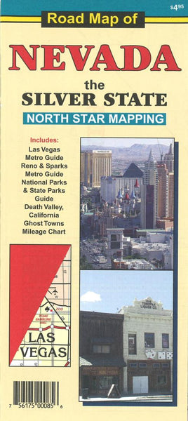 Cover of Road Map of Nevada: the Silver State by North Star Mapping