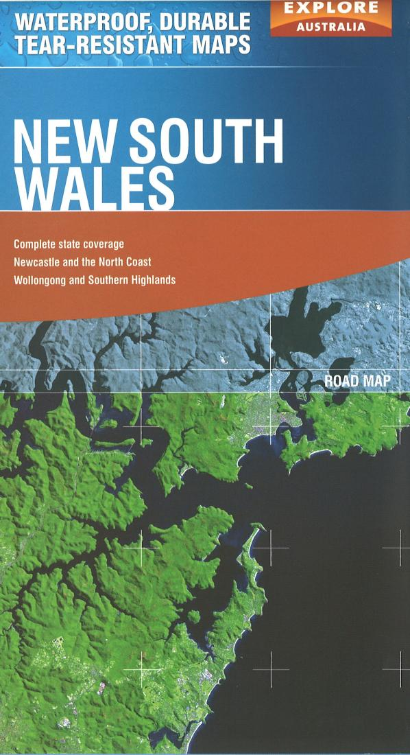 Cover of New South Wales, Australia Travel Map