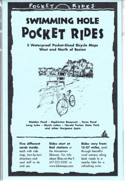 Cover of Boston, West/North, Swimming Holes, Lam Biking Map Cards