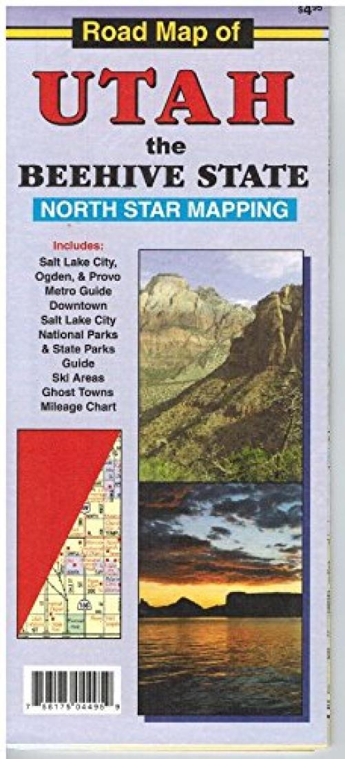 Cover of Road Map of Utah by North Star Mapping