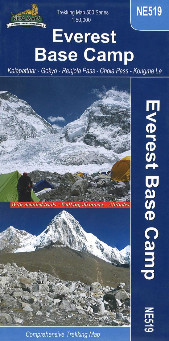 Cover of Everest Base Camp Trekking Map by Nepa Maps