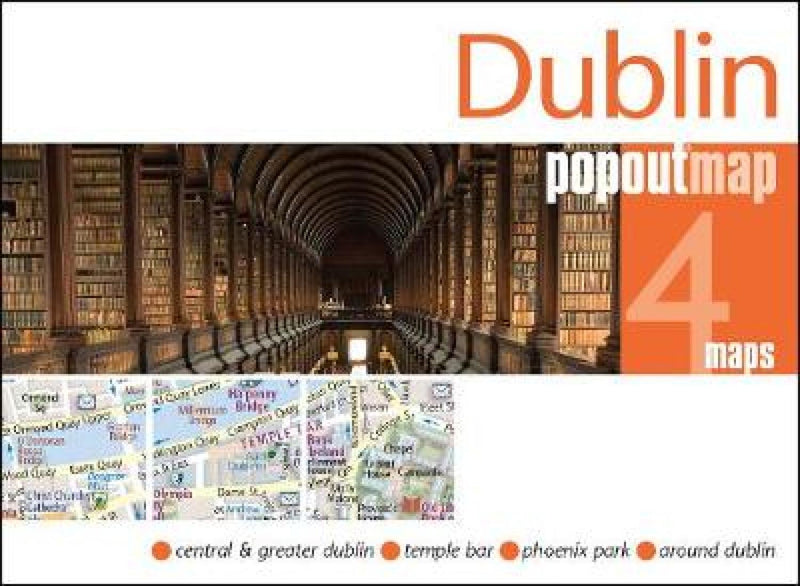 Cover of Dublin, Ireland, PopOut Map