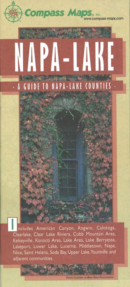 Cover of Napa & Lake County Winery Locations