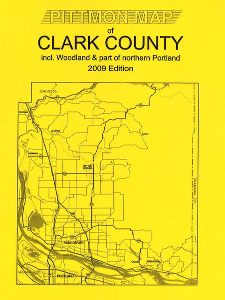 Cover of Clark County, Washington Atlas by Pittmon Map Company