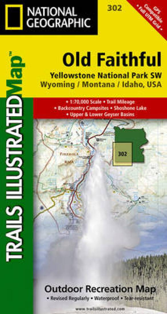 Old Faithful : Yellowstone National Park sw : Wyoming/Montana/Idao, USA by National Geographic