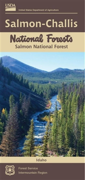 Cover of Salmon-Challis National Forest Map by U.S. Forest Service